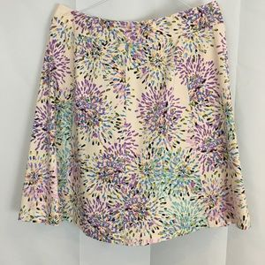 Lane Bryant Floral Skirt